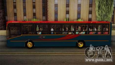 Nuovobus MB OF1418 Linea 302 para GTA San Andreas vista posterior izquierda