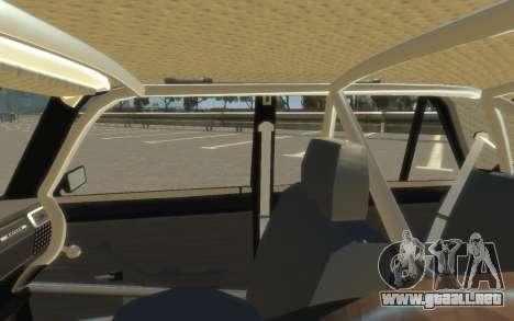 VAZ 2105 Drift (Paul Black prod.) para GTA 4 visión correcta