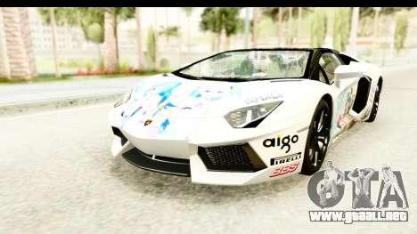 Lamborghini Aventador LP700-4 Roadster v2 para el motor de GTA San Andreas