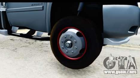 Chevrolet Silverado 2011 para GTA San Andreas vista hacia atrás