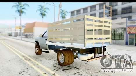 Chevrolet Silverado 2011 para GTA San Andreas left