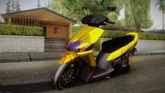 Honda Vario Yellow Shines para GTA San Andreas