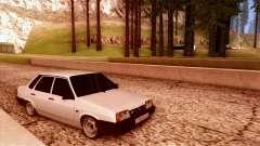 VAZ 21099 blanco para GTA San Andreas