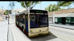 Metrobus de la Ciudad de Mexico para GTA San Andreas