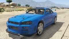 Nissan Skyline GT-R V-Spec R34 para GTA 5
