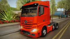 Mercedes-Benz Actros Mp4 6x2 v2.0 Steamspace v2 para GTA San Andreas