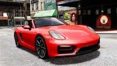 Porsche Boxster GTS 2014 para GTA 4