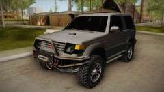 Mitsubishi Pajero 3-Door Off-Road para GTA San Andreas