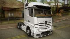 Mercedes-Benz Actros Mp4 6x2 v2.0 Bigspace v2 para GTA San Andreas