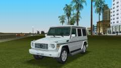 Mercedes-Benz G500 W463 2008 para GTA Vice City