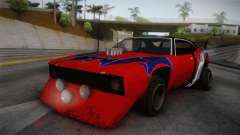 Ford Falcon 1972 Red Bat para GTA San Andreas