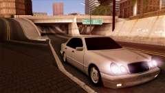 Mercedes-Benz E420 black para GTA San Andreas