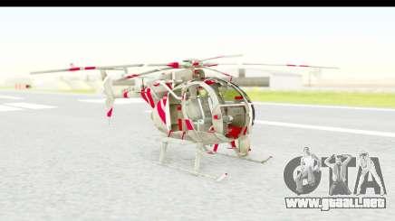 Smaga Sparrow Helis Military Version para GTA San Andreas