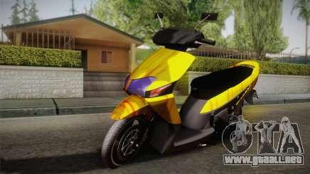Honda Vario Yellow Shines para GTA San Andreas
