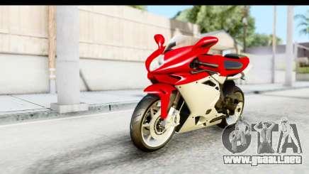 MV Agusta F4 para GTA San Andreas