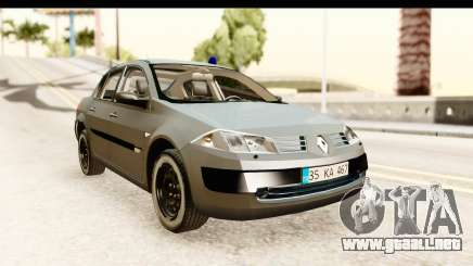 Renault Megane 2 Sedan Unmarked Police Car para GTA San Andreas