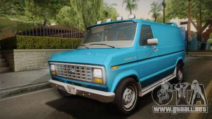 Ford E-150 Commercial Van 1982 2.0 para GTA San Andreas