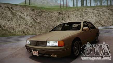 Declasse Premier 1992 SA Style para GTA San Andreas