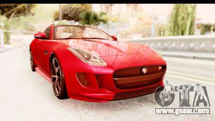 Jaguar F-Type R Coupe 2015 para GTA San Andreas