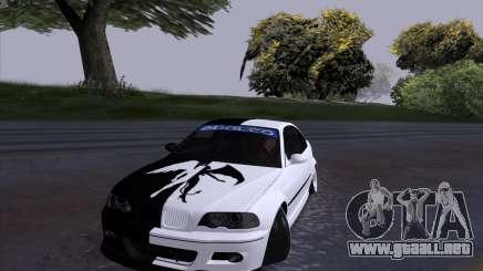 BMW E46 Good and Evil para GTA San Andreas