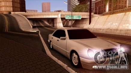 Mercedes-Benz E420 black para GTA San Andreas