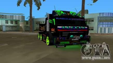 KAMAZ 65115 TUNING para GTA Vice City