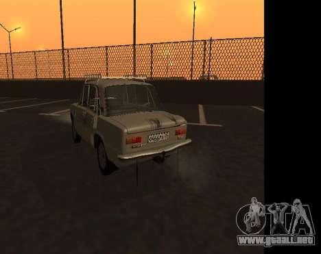 VAZ 21013 Krasnoyarsk stil para GTA San Andreas vista hacia atrás