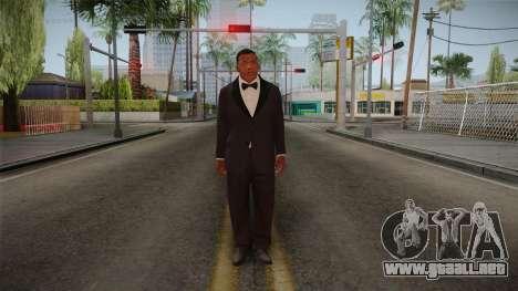 GTA 5 Franklin Tuxedo v2 para GTA San Andreas segunda pantalla