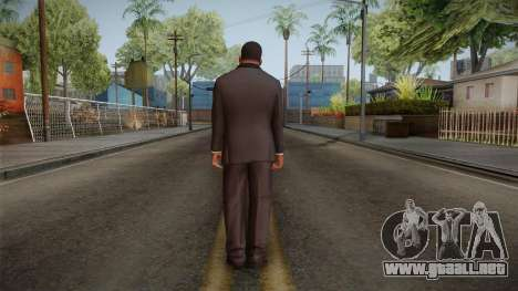 GTA 5 Franklin Tuxedo v2 para GTA San Andreas tercera pantalla