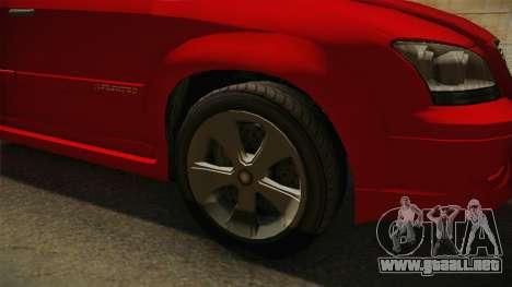 GTA 5 Emperor Habanero para GTA San Andreas vista hacia atrás