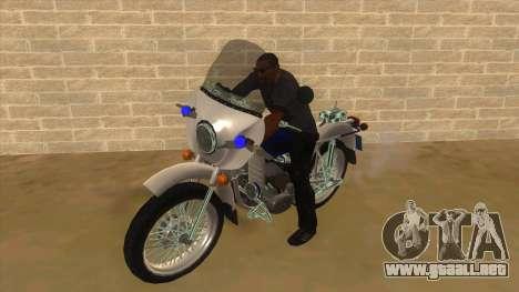 Ural De La Policía para GTA San Andreas