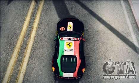 Ferrari F12 Berlinetta para la visión correcta GTA San Andreas
