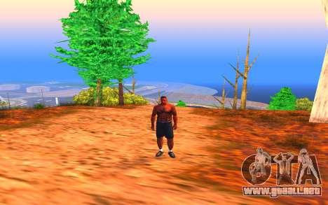 Summer Colormod para GTA San Andreas tercera pantalla