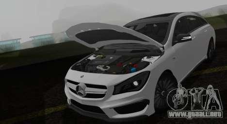 Mercedes-Benz CLA 45 AMG para la visión correcta GTA San Andreas