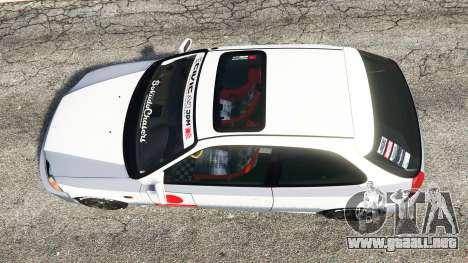GTA 5 Honda Civic EK9 [kanjo edition] [replace] vista trasera
