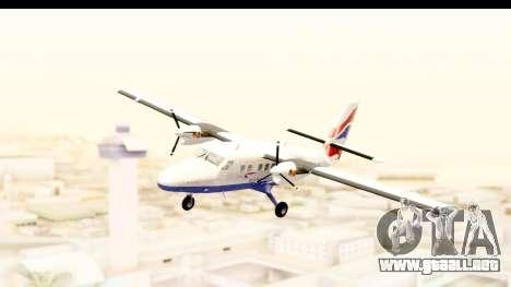 DHC-6-400 de Havilland Canada para GTA San Andreas vista posterior izquierda