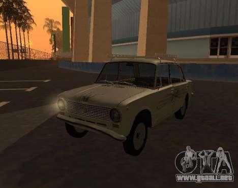 VAZ 21013 Krasnoyarsk stil para la visión correcta GTA San Andreas