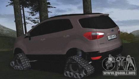 Ford Ecosport Off-Road para GTA San Andreas left