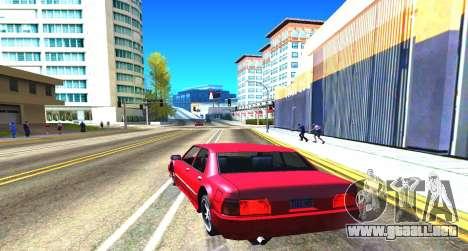 Summer Colormod para GTA San Andreas sucesivamente de pantalla