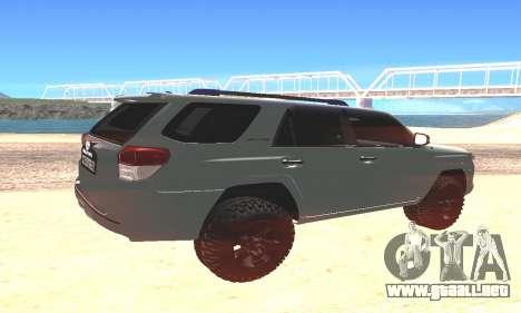 Toyota 4Runner para GTA San Andreas left