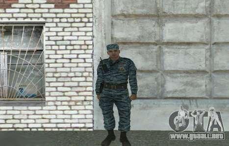 Policías antidisturbios (verano) para GTA San Andreas