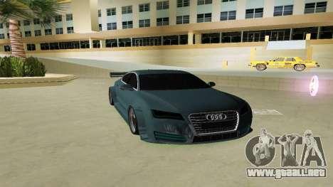 AUDI A7 SPORTS para GTA Vice City
