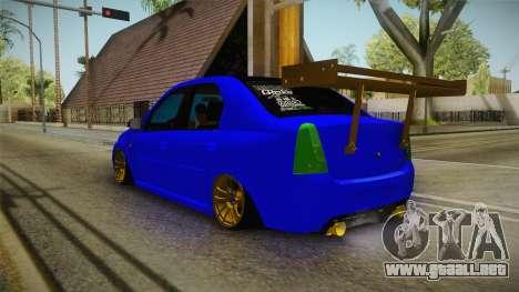 Dacia Logan Stance Haur Edition para GTA San Andreas left