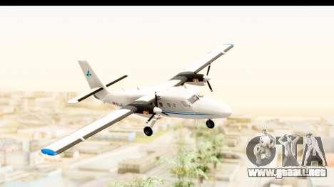 DHC-6-400 Zimex Aviation para GTA San Andreas vista posterior izquierda
