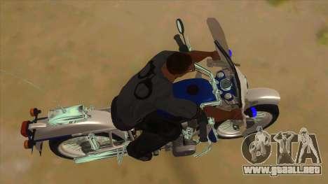 Ural De La Policía para visión interna GTA San Andreas