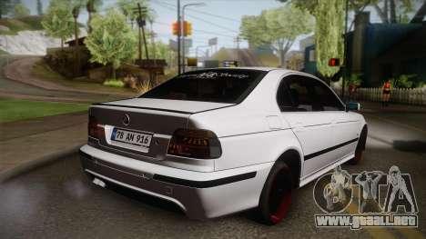 BMW M5 E39 Turbo King para GTA San Andreas left
