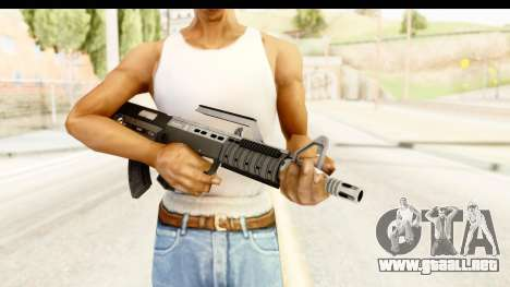 GTA 5 Hawk & Little Bullpup Rifle para GTA San Andreas tercera pantalla