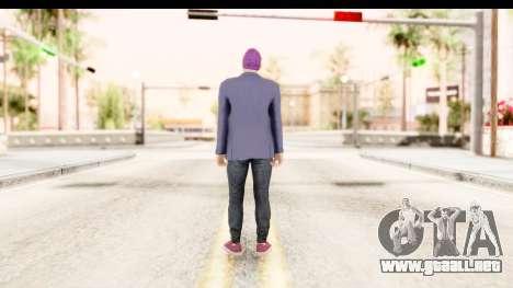 GTA 5 Random Skin 1 para GTA San Andreas tercera pantalla