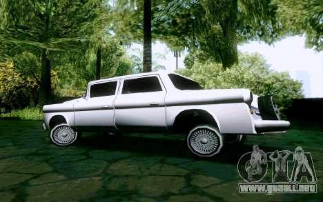 Walton Sedan para la visión correcta GTA San Andreas