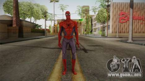 Marvel: Ultimate Alliance 2 - Spider-Man para GTA San Andreas segunda pantalla